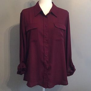 Investments Sheer Blouse